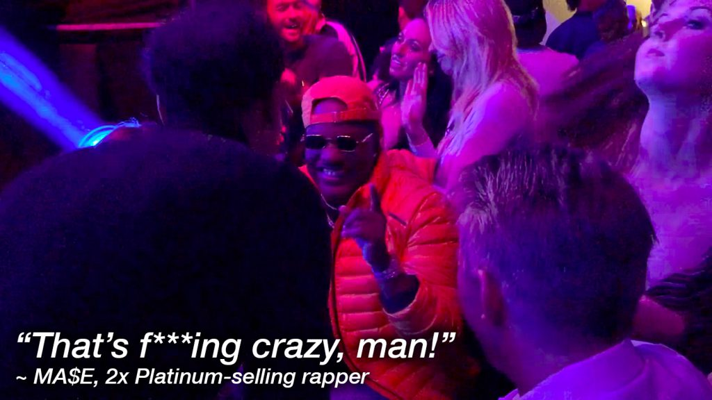 """That's f***ing crazy, man!"" ~ Ma$e, Double-Platinum selling rapper"